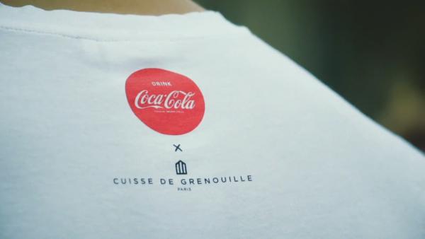 Coca-Cola continue de célébrer Paris avec les t-shirts Cuisse de Grenouille