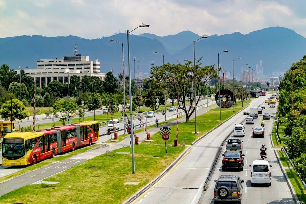 Movilidad en la calle 26 de Bogotá