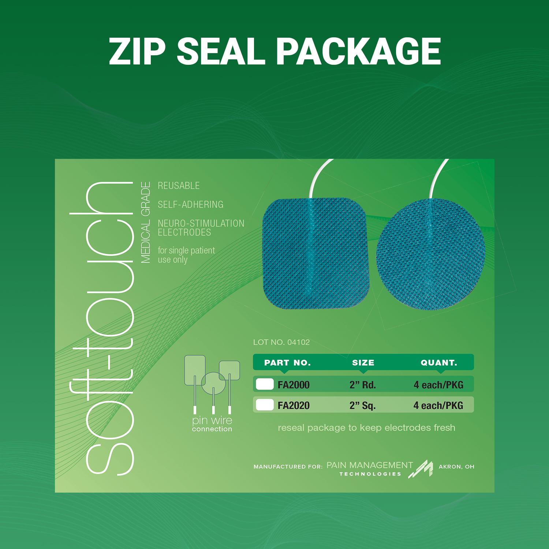Soft-Touch Carbon Electrodes Foam back(PMT gel)