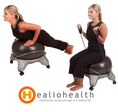 Exercise Ball Chair Aeromats Fitness Ball Chair