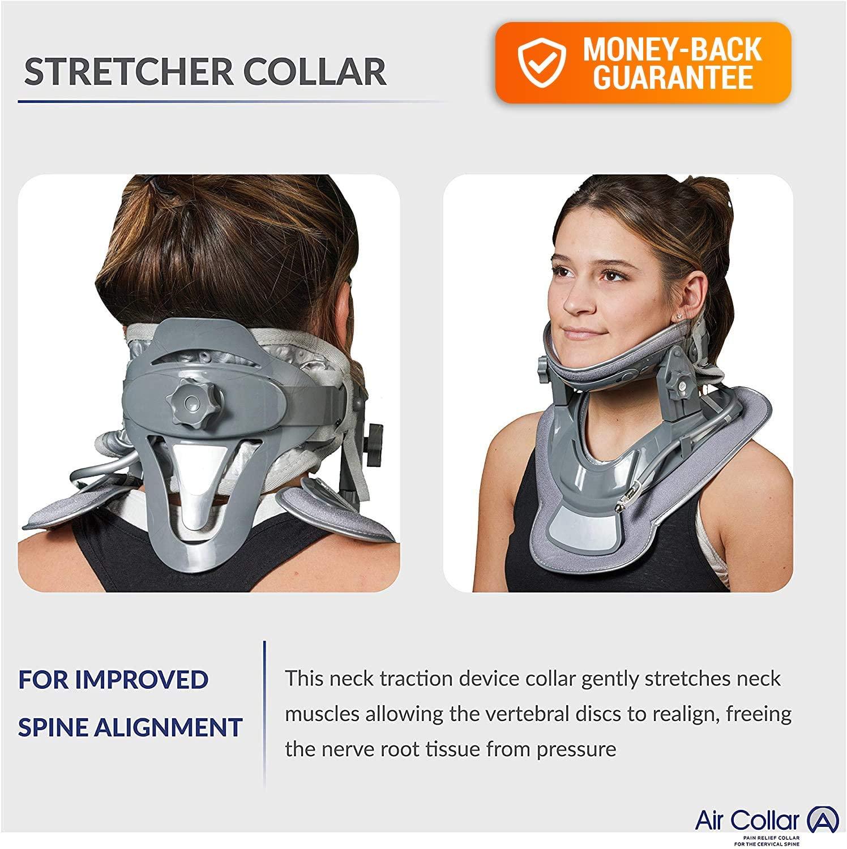 Air collar - Neck Traction Device Collar