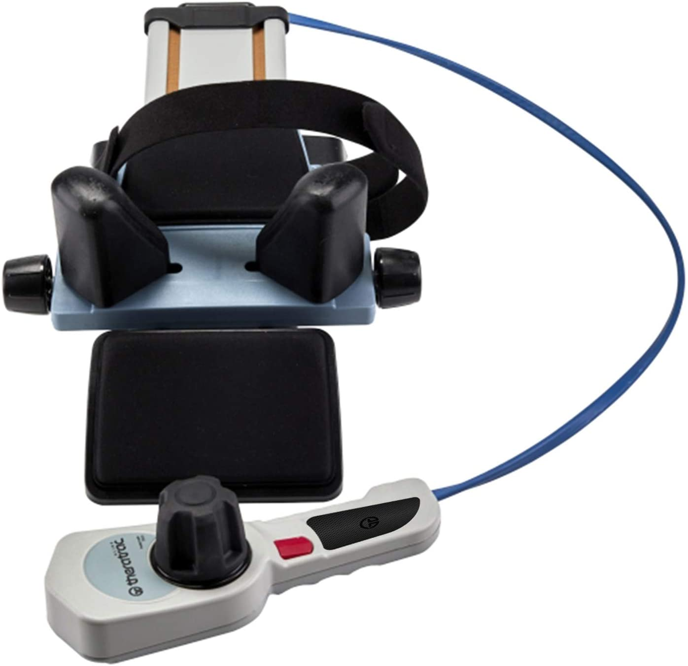 Neck Traction with Ratchet Tight Technology by Theratrac Glide - Cervical Traction - Stretch and Relieve Pain, Cervicalgia, Degeneration of disc, Spondylosis and Spine Alignment