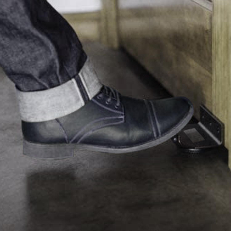 Toe Handle - Touchless Door Opener - Black