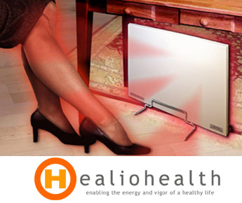 Radiant heat panel cozy legs heater Warm toes radiant heat