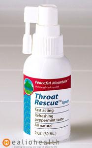 Sore Throat Spray Throat Rescue Healiohealth Com
