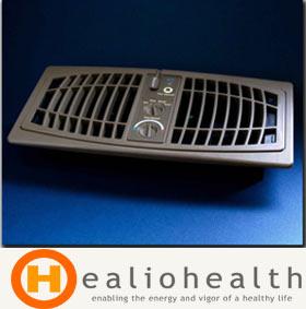Airflow Breeze Register Booster Fan - Almond - Healiohealth com