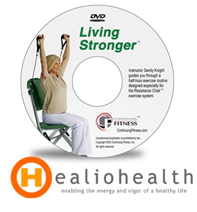 Fitness Workout Video Resistance Chair Training - Living Stronger Video - Healiohealth.com  sc 1 st  HealioHealth.com & Fitness Workout Video Resistance Chair Training - Living Stronger ...