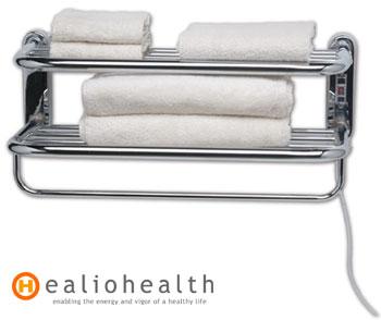 Freestanding Towel Rail Heatra Classic Drying Racks Polished Brass