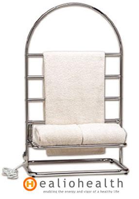 Heated Towel Stand Trafalgar Free Standing Towel Rack Satin Nickel