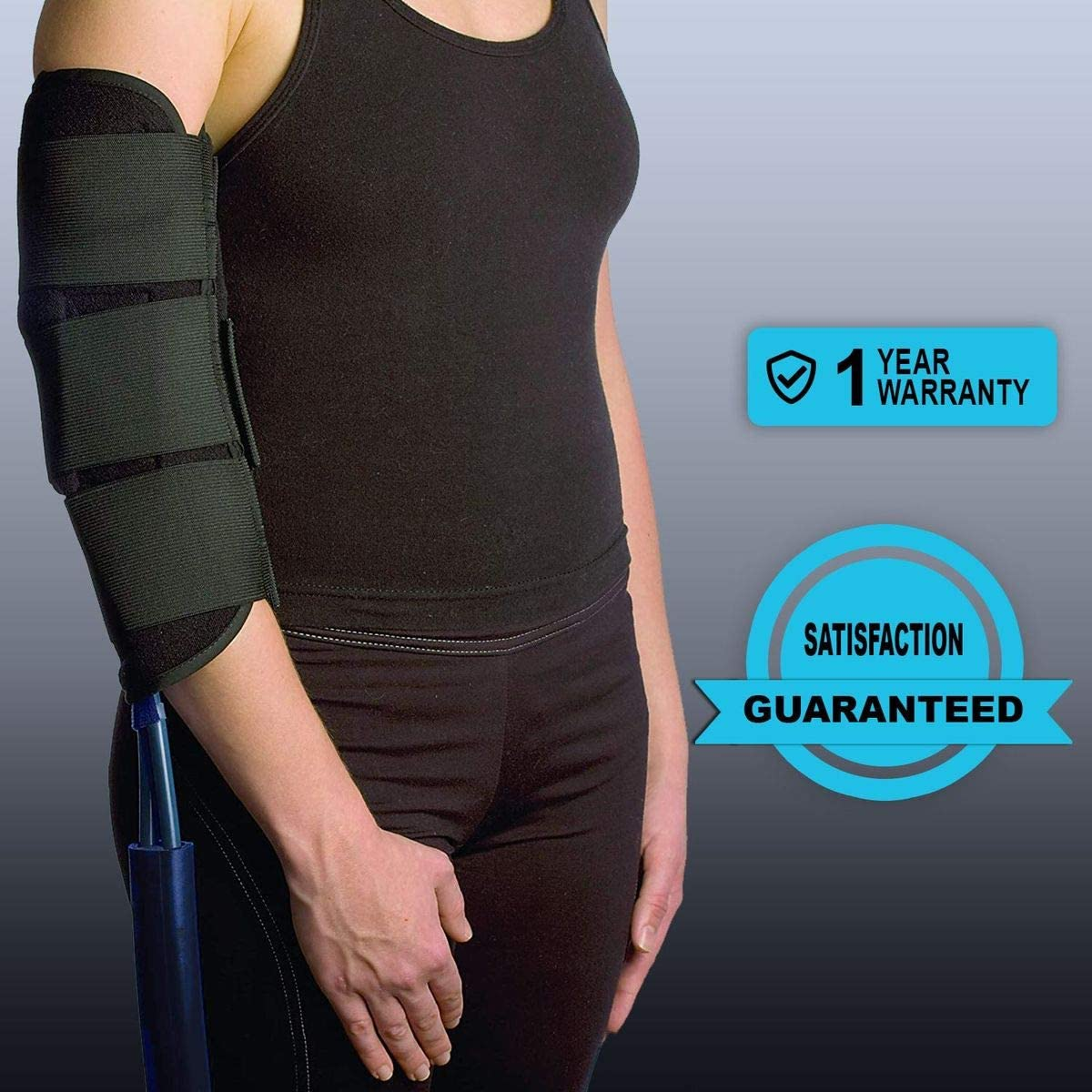 Cold Water Therapy Versatile Joint Wrap for Universal Pad for Cryotherapy Unit - 3 Strap Wrap Only for Pad