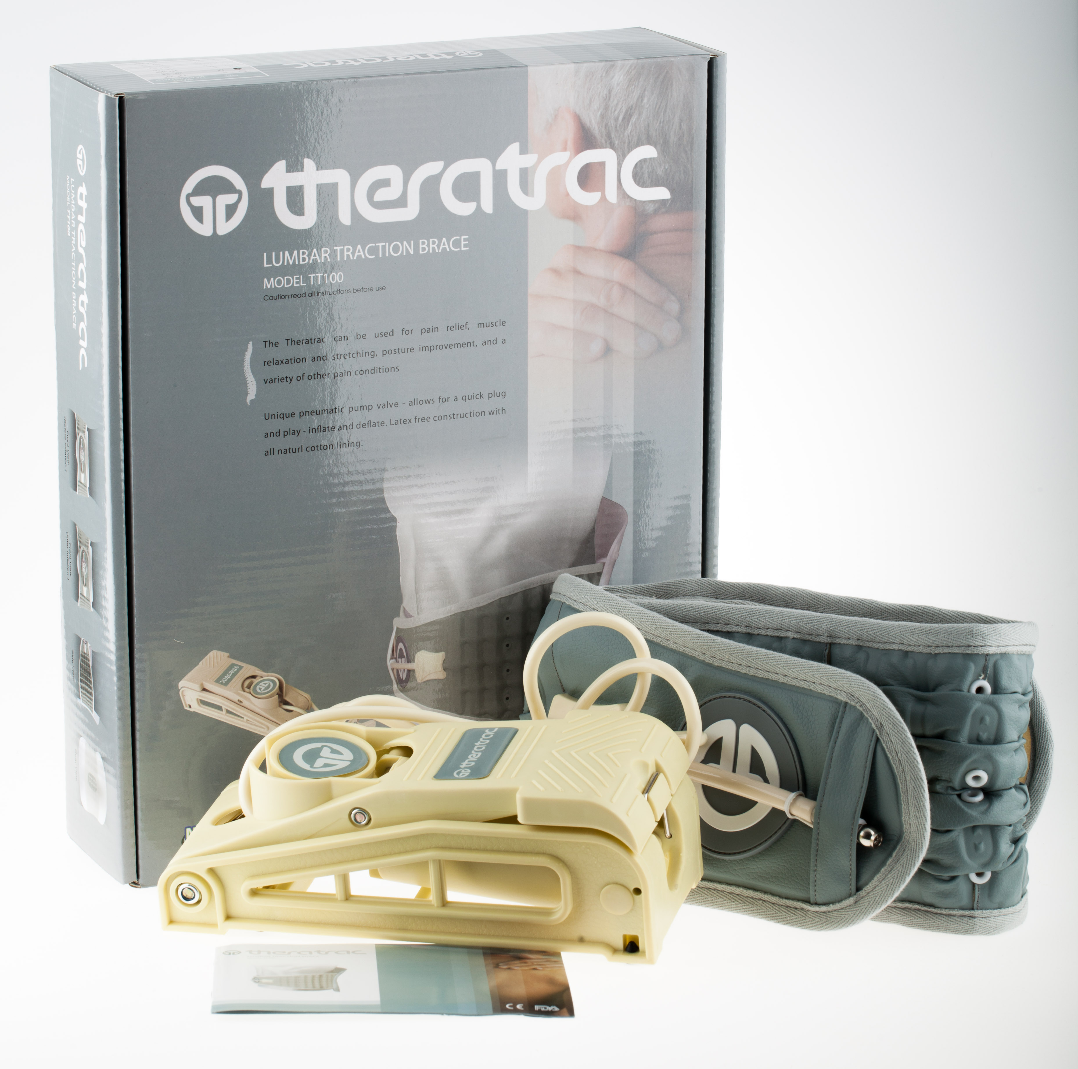 Theratrac Lumbar traction Brace