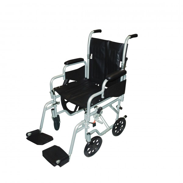 Poly Fly Light Weight Transport Chair Wheelchair With
