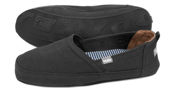 "PANTAI ""beach"" SHOE - Black"