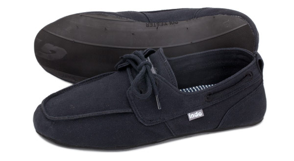 "PRAHU ""boat"" SHOE - Black"