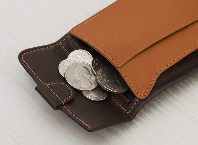 Coin Fold Slim Leather Wallet With Coin Pocket Bellroy