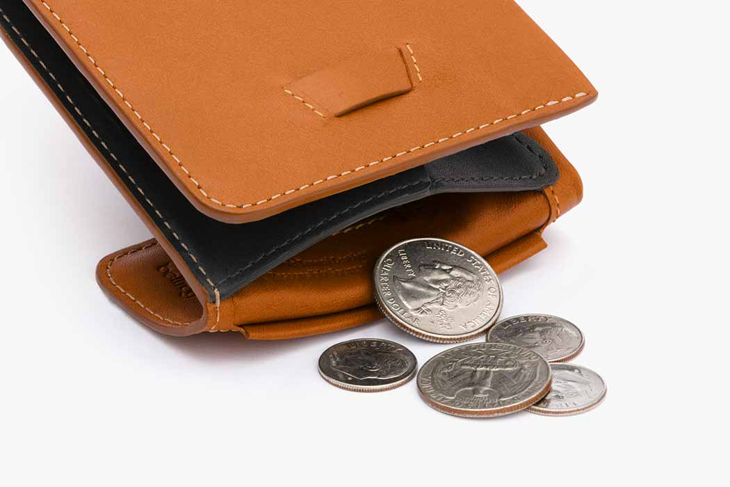 8bd71ee596 Coin Fold: Slim Leather Wallet With Coin Pocket | Bellroy