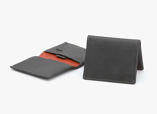 Slim Sleeve – Leather Bi-Fold Wallet For Minimalists