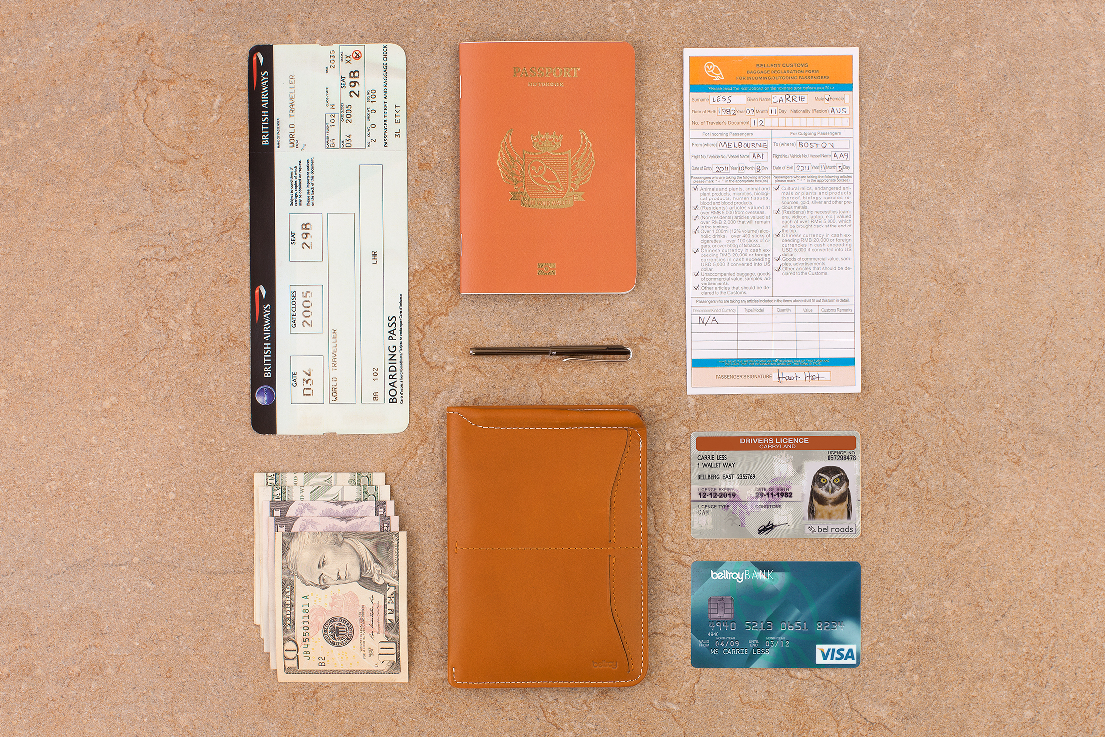 Passport Sleeve: Leather Travel Wallet, Holder & Cover | Bellroy