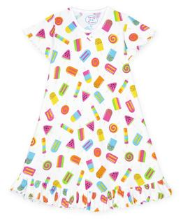 Sara's Prints Girls Short Sleeve Nightie
