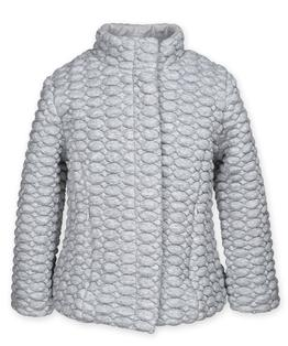 Zip bubble jacket