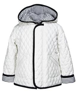 Hooded barn jacket