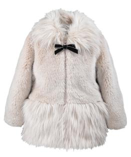 Mix Faux Fur Coat