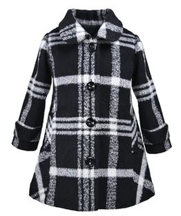 Button A-Line Coat