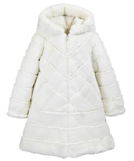 Chevron A-Line Coat