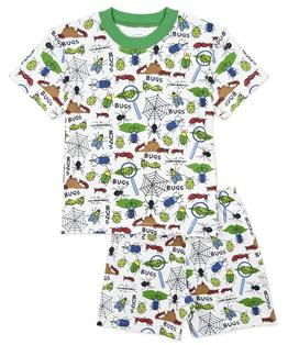 Sara's Prints Unisex Short Pajama Set
