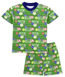 Sara's Prints Boys Short Pajama Set
