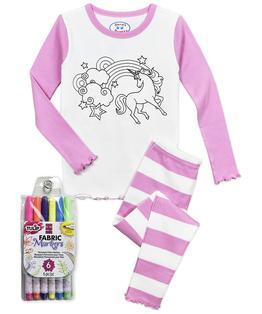 ColorMe Girls Long John Pj