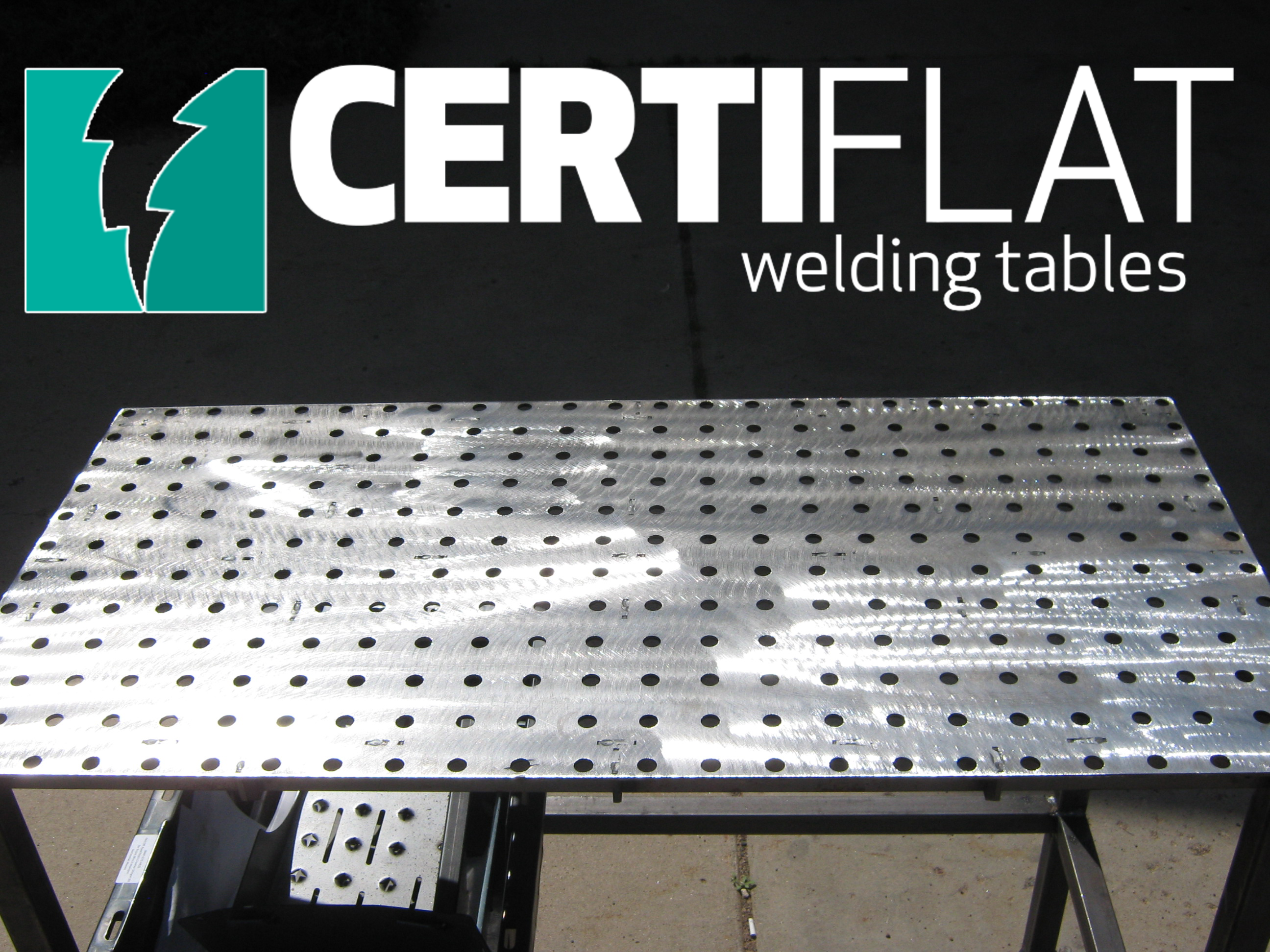 Heavy Duty 3 X4 Welding Table Kit Certiflat By Tab Amp Slot