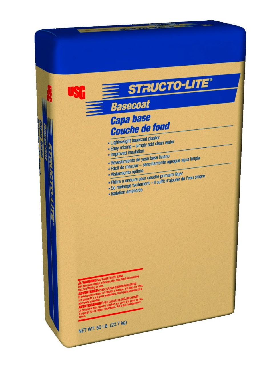 Structo-Lite Basecoat Plaster