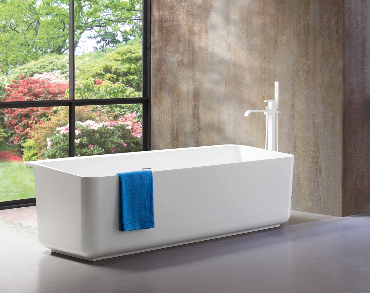Tulip Solid-Surface tubs