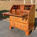 Antique 17th Century Charles II Slant-front Desk