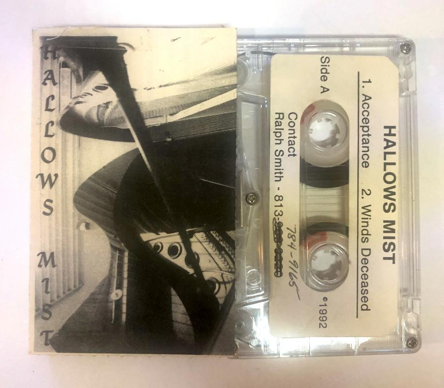 Ultra Rare 1992 Hallows Mist 4 Song Long Island Rock Metal Demo Comes with a CD Transfer
