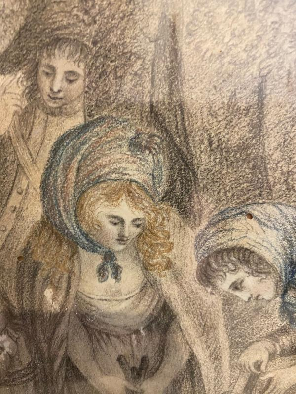 Jean Antoine Watteau - Untitled Country Interlude (1701)