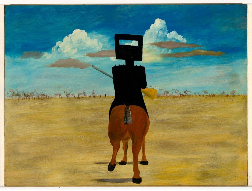 Sidney Nolan Untitled, House & Street c1960's
