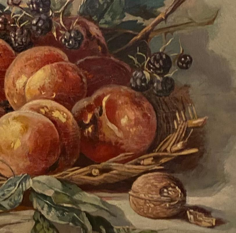 18th Century Oil painting - Untitled, Still life Fruit