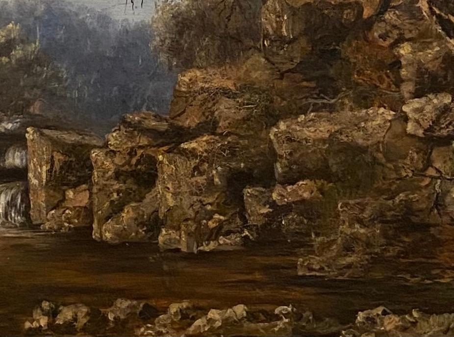 Gustave Courbert 19th Century Painting, Title  -Solitude