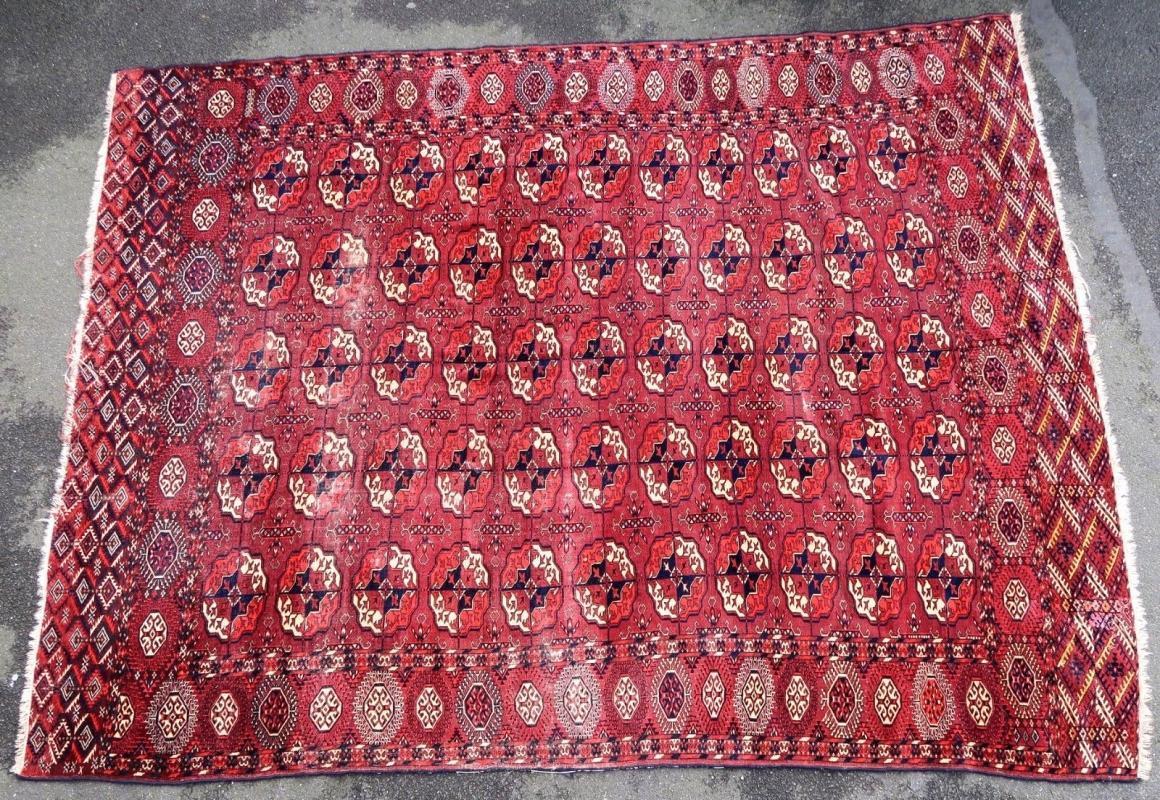 Turkmen rug Tekke Pre-1900
