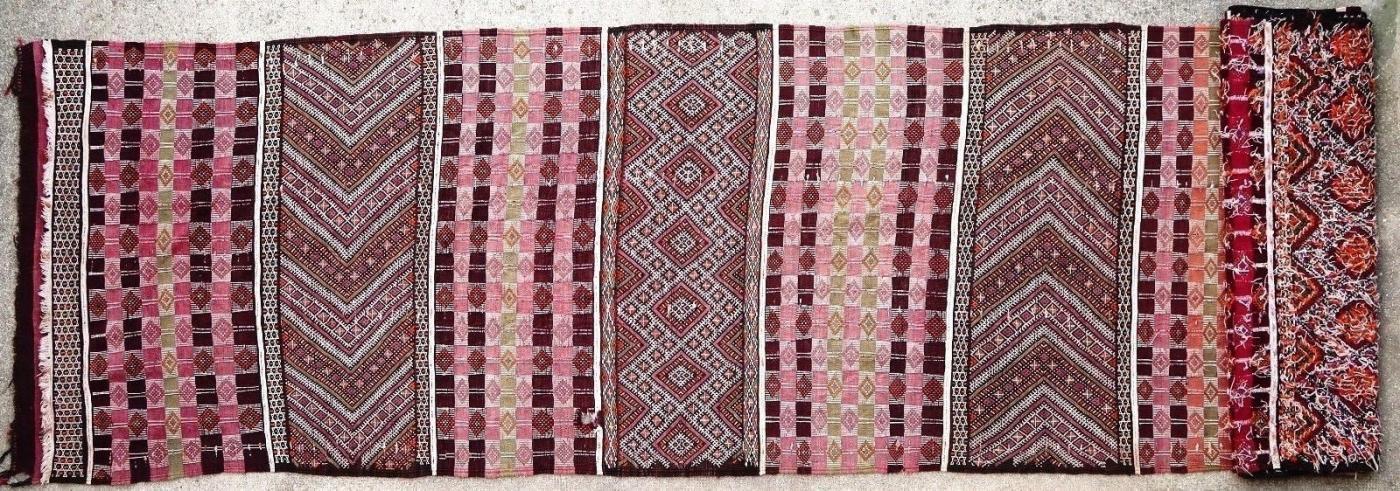Moroccan kilim 1900