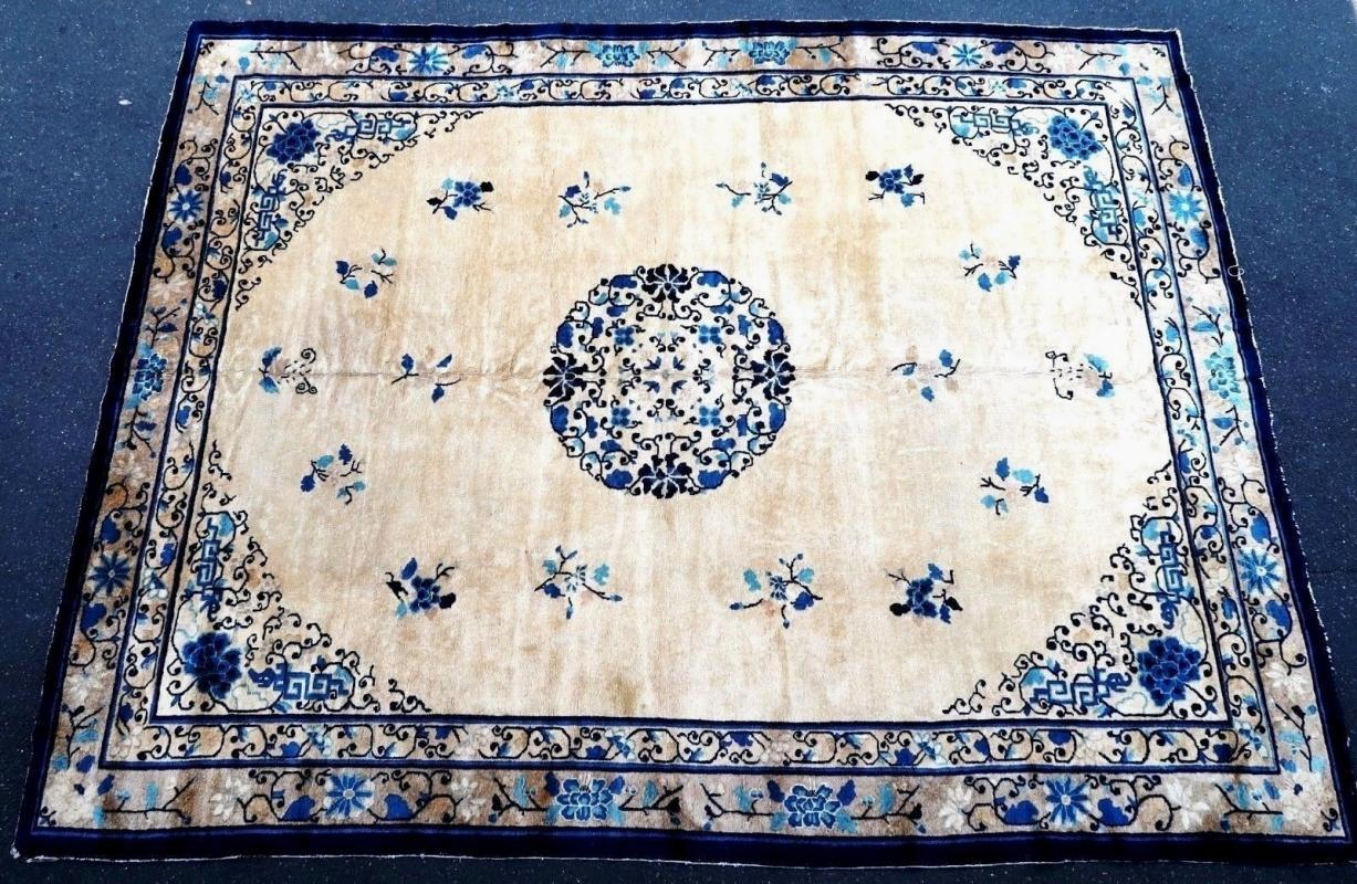 Chinese rug Pre-1900