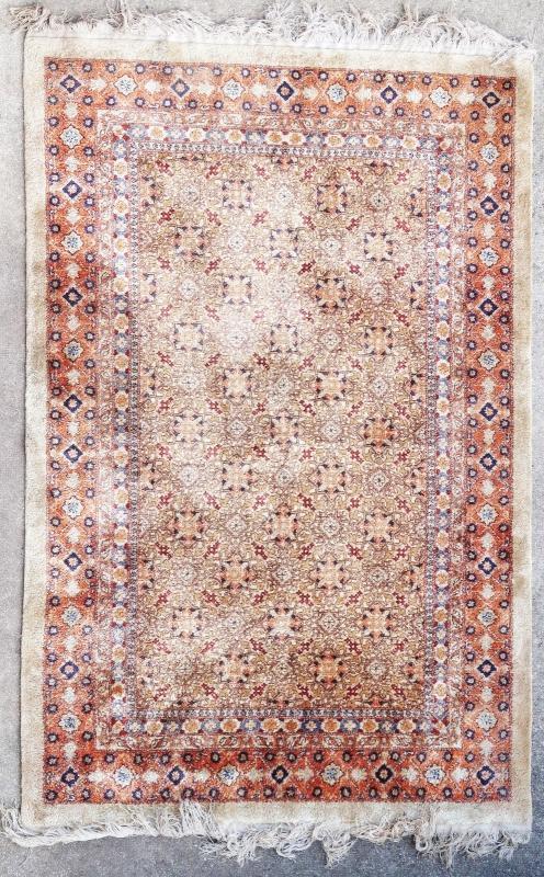 Chinese silk rug 1950