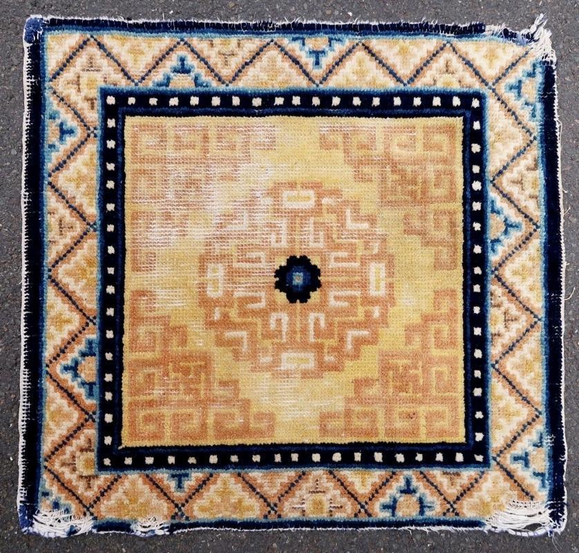 Chinese rug 19th century