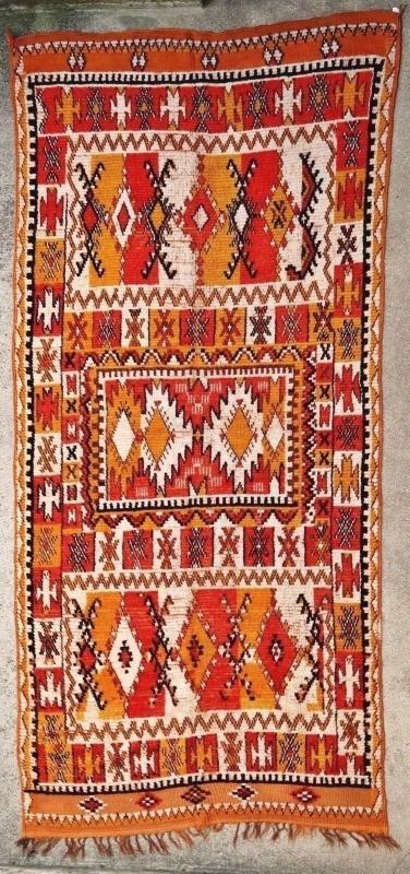 Moroccan rug Ait Ouarda 1900