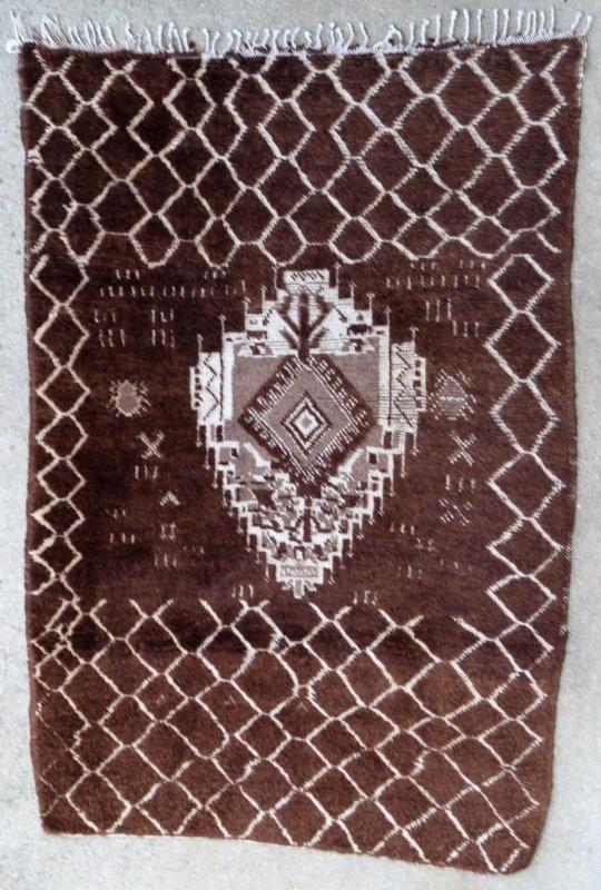 Moroccan rug 1950