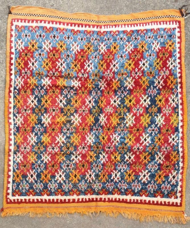 Moroccan rug Ait Ouaouzguit 1930