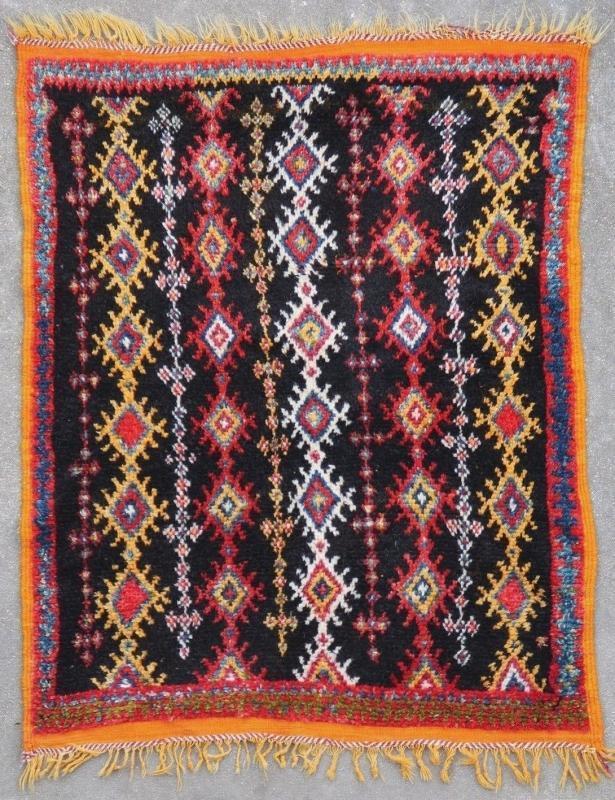 Moroccan rug Ait Ouaouzguit 1920