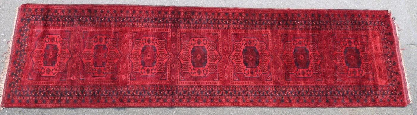 Afghan rug 1900